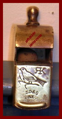 A_Strauss_Collec_American_whistle,Esc___S_D_&_G_ whistle museum