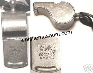 Escargot_whistle_museum,_USA_Townsend_sporting_Goods_Co__Omaha