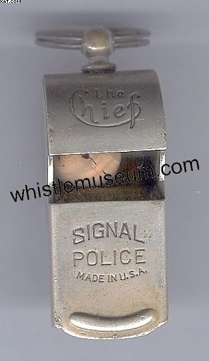 whistle_museum,_Rare_American_whistle,The_Chief_Escar__Signal_one_of_the_finest_US_made