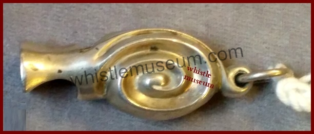 1881 DL Snail whistle ..Escargot _ whistle _museum