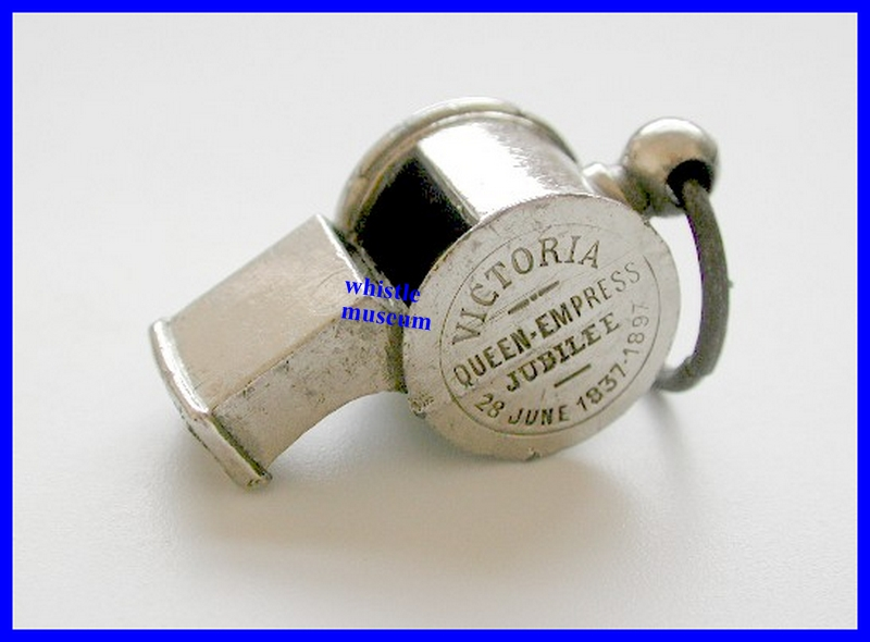 1897 Victorian French Queen Victoria Diamond Jubilee Escargot Whistle whistle museum
