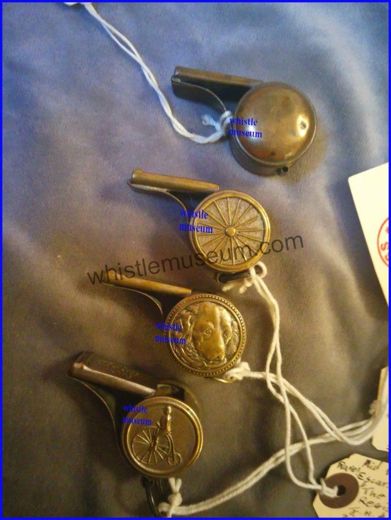 4 Button escargot whistles, referee whistle whistle museum a