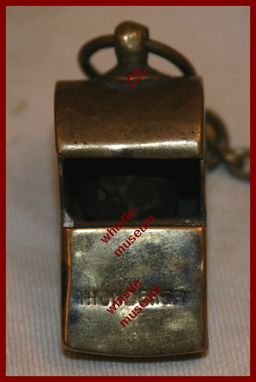 Black & Co Early Thunderer whistle musuem JPG