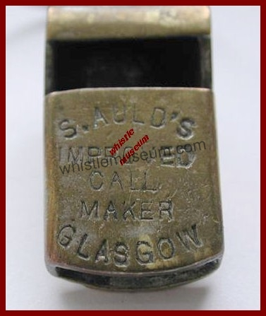Glasgow type__S. Auld_Pre_Reg__Stamp_Close_Up Avner STrauss collec. whistle museum