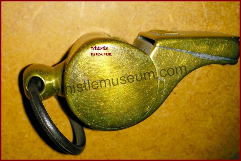 McDonald Railway whistle side , whistle museum