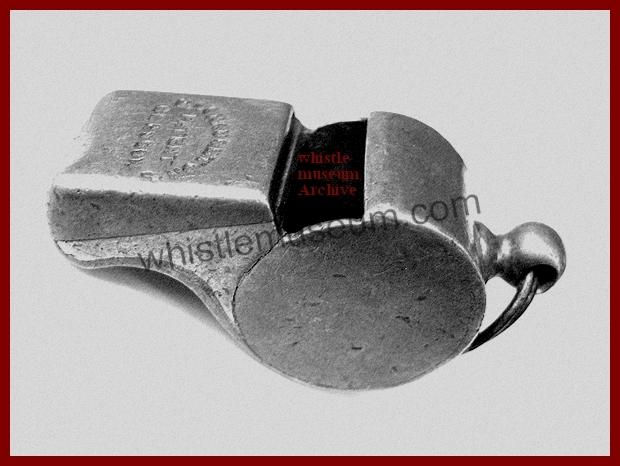 McNaughton Glasgow type whistle
