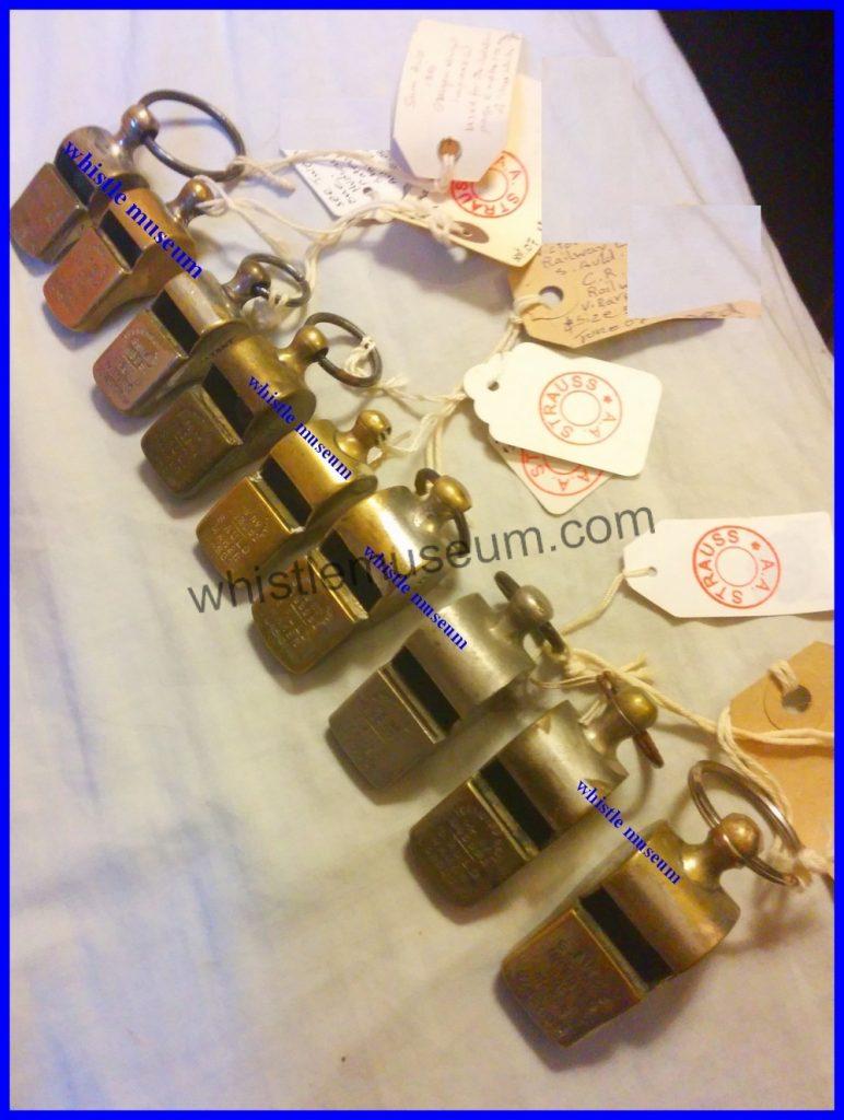 Samuel Auld whistle maker Glasgow 5 model sizes whistle museum