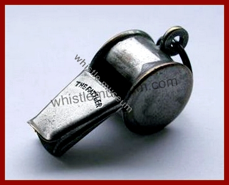 esccargot whistle by walton 45 mm The Rattler Rare whistle museum a