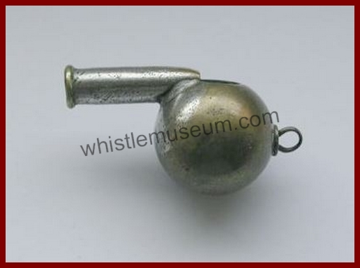 J Hudson and Co Globular spherical whistle ,50mm Hudson